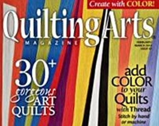 Quilting Arts Feb/March 2014
