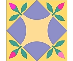 January Caring and Sharing quilting bee