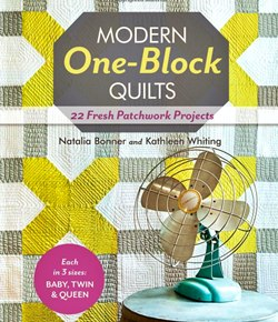 book of one block quilts