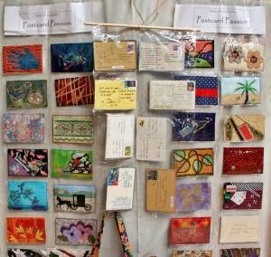 Caloundra Quilt Show postcard quilts