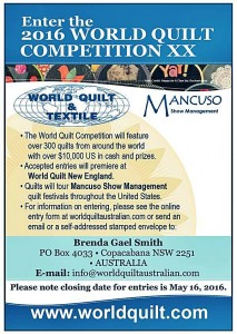 enter the world quilt competition 2016