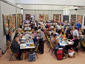 Our 2016 Quilt-In a great success