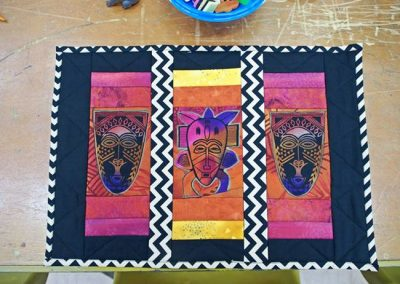 Tribal theme placemat 1