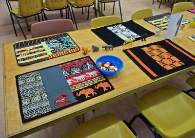 Tribal theme placemats