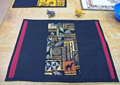 Tribal theme placemat 2