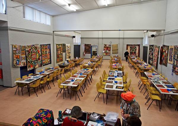 The Quilt-In venue is ready for visitors