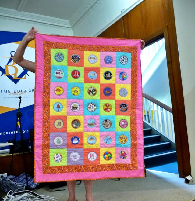 Scrap quilts for Caring & Sharing 1 by Miriam McCartney