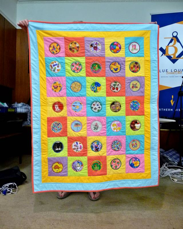 Scrap quilts for Caring & Sharing 2 by Miriam McCartney