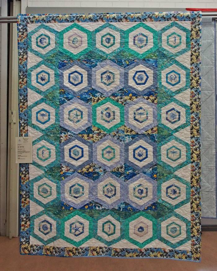 Sara's Quilt - Under the Sea by Fran Cox