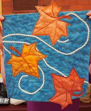 Sarah's Autumn Leaf