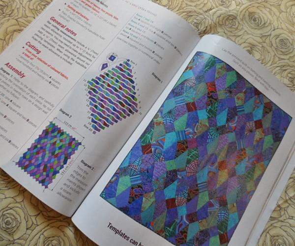 Inside Quiltmania magazine