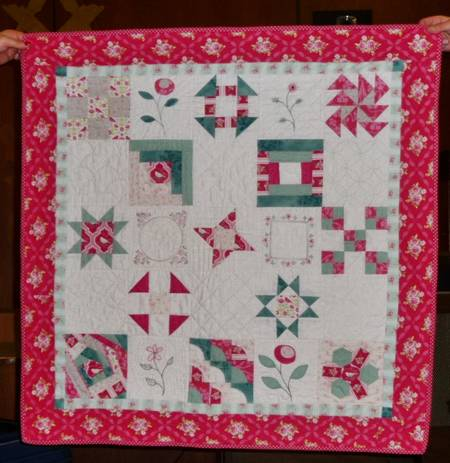 Therese Hylton from Patchwork Pumpkin quilts