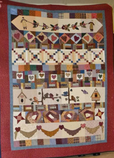Patchwork Pumpkin - Therese Hylton quilts1