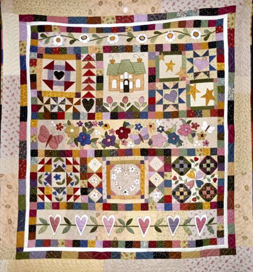 Patchwork Pumpkin - Therese Hylton quilts2