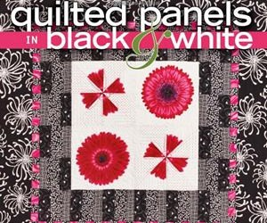 Review – QUILTED  PANELS IN  BLACK  AND  WHITE
