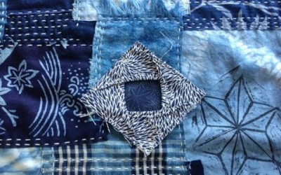 Sashiko/Boro group quilt