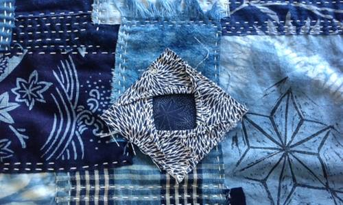 About the Sashiko group quilt for 2016