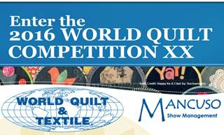 Australian entries for World Quilt Competition 2016