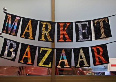 Off to the Quilt-In Market Bazaar