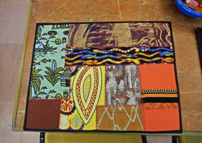 Tribal theme placemat 3