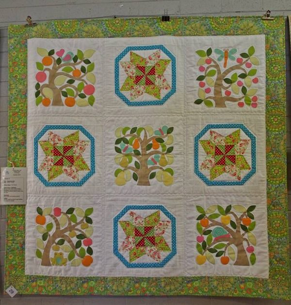 Happiness Quilt by Sue Cheney