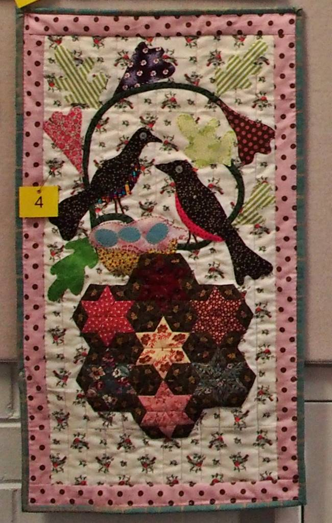 Members choice challenge quilt - Family by Liz Willing